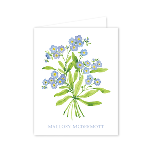Forget Me Nots Notecards | Botanical Bouquets