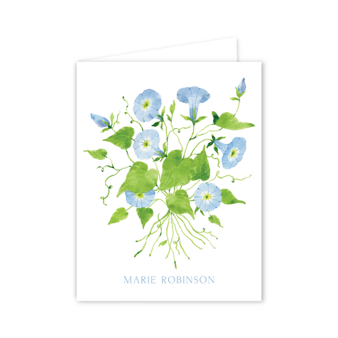 Morning Glory Notecards | Botanical Bouquets