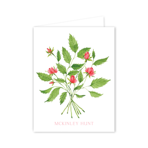 Roses Notecards | Botanical Bouquets
