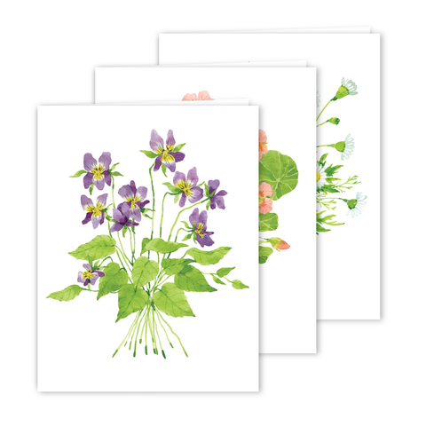 Assorted Card Set | Botanical Bouquets