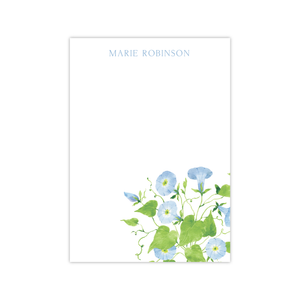 Morning Glory Notepads | Botanical Bouquets