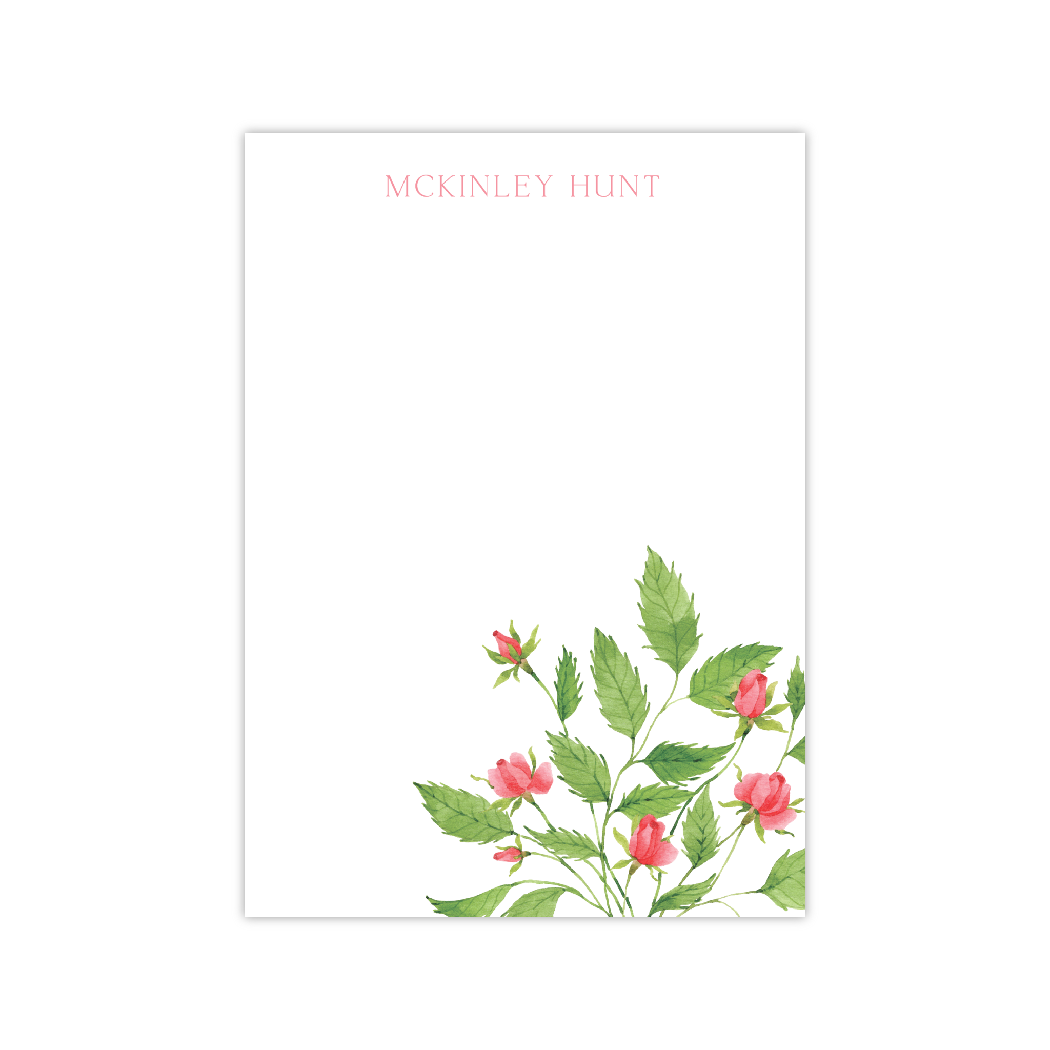 Roses Notepads | Botanical Bouquets