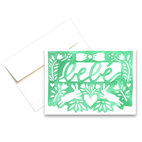 Bebe | Greeting Card