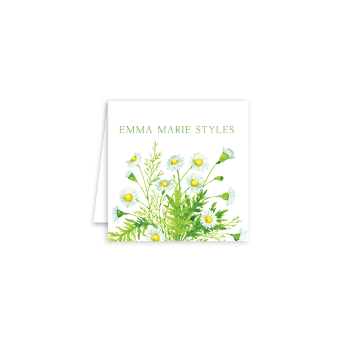 Chamomile Enclosure Cards | Botanical Bouquets