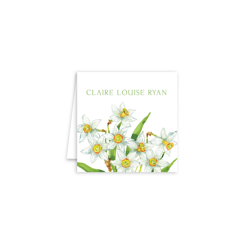 Daffodils Enclosure Cards | Botanical Bouquets