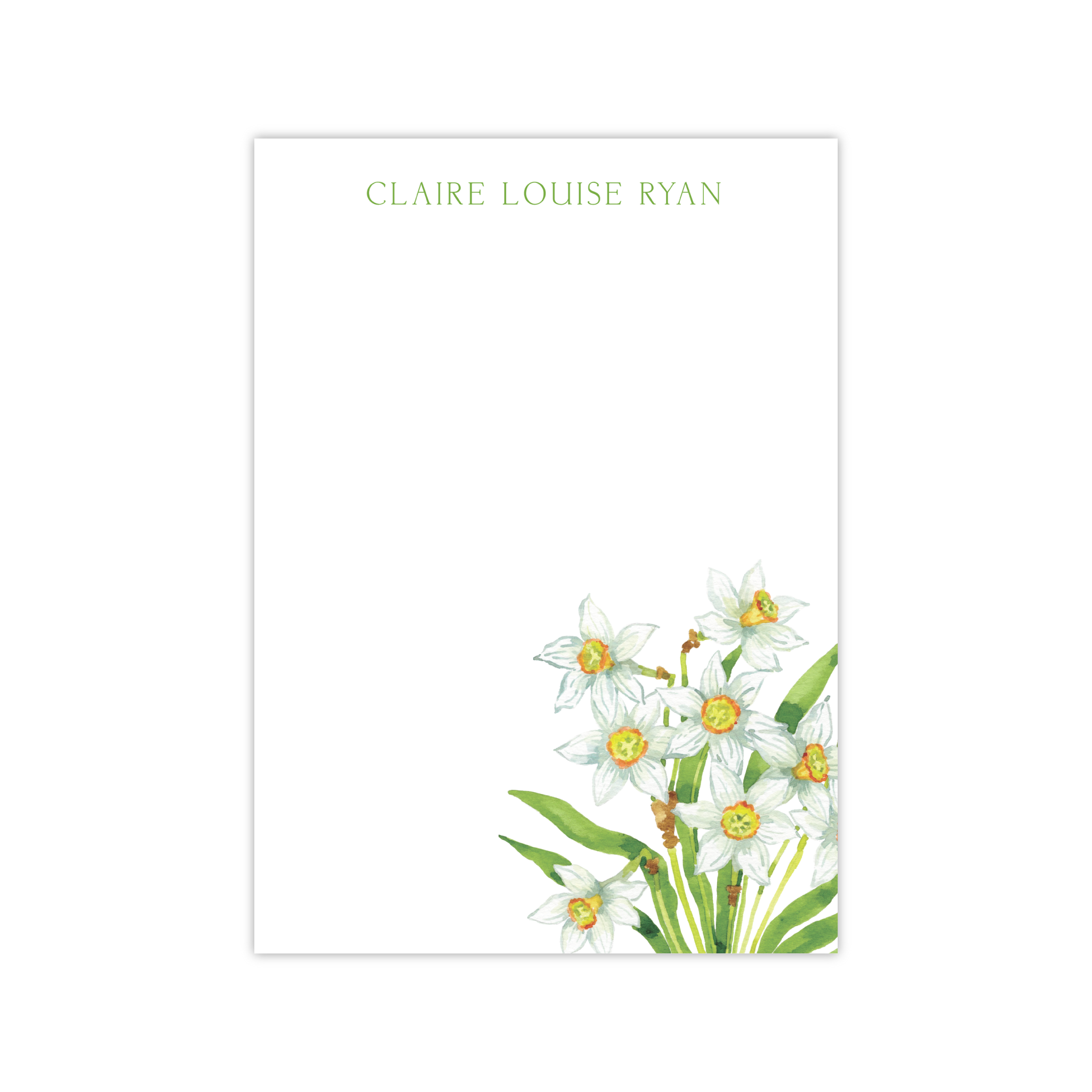 Daffodils Notepads | Botanical Bouquets