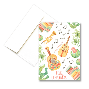 Mariachi Birthday | Greeting Card