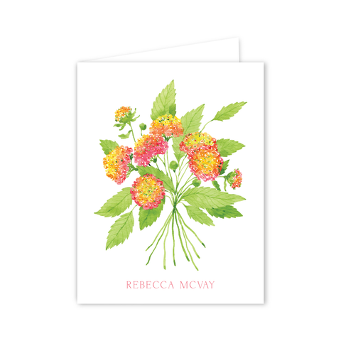 Lantanas Notecards | Botanical Bouquets