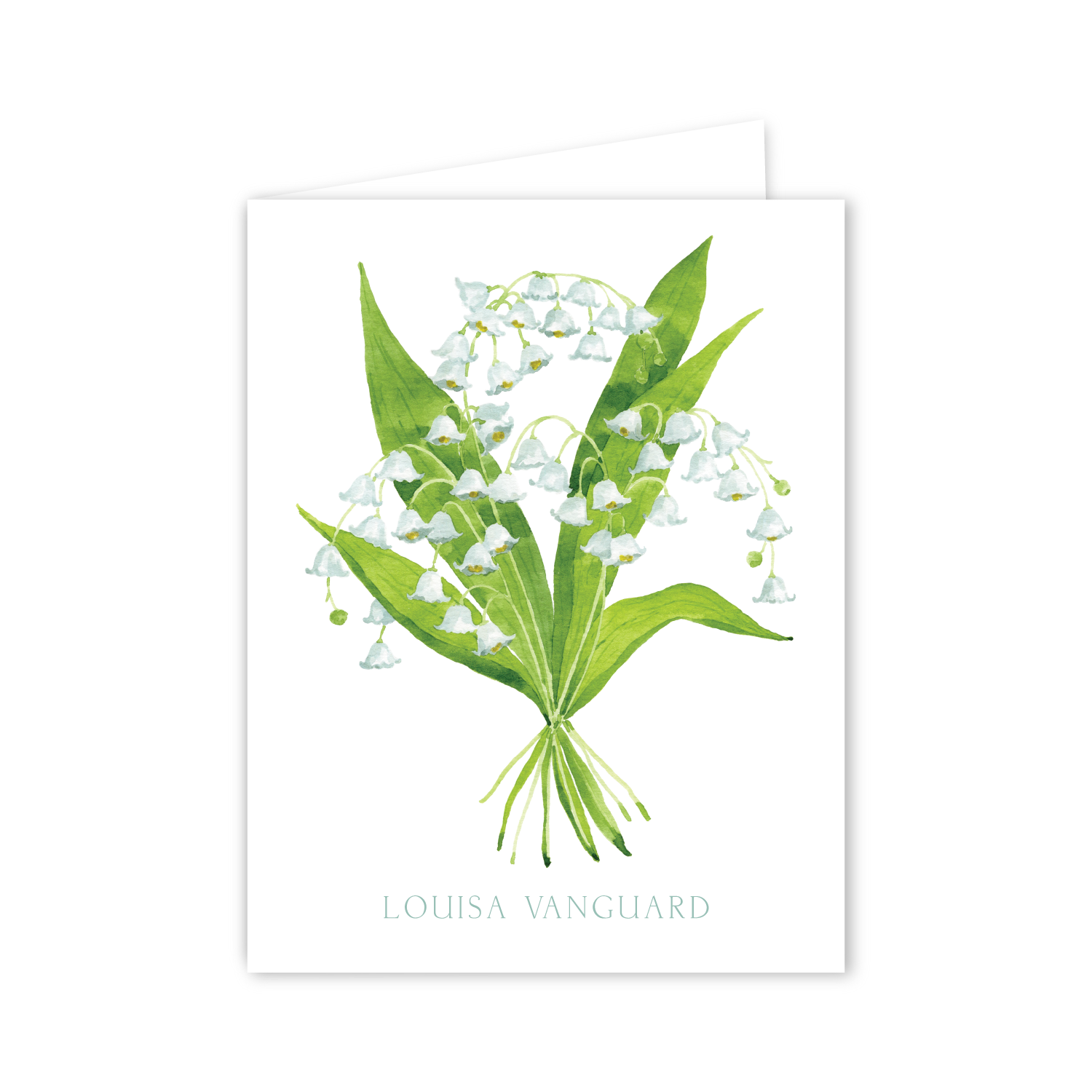 Lily of the Valley Notecards | Botanical Bouquets
