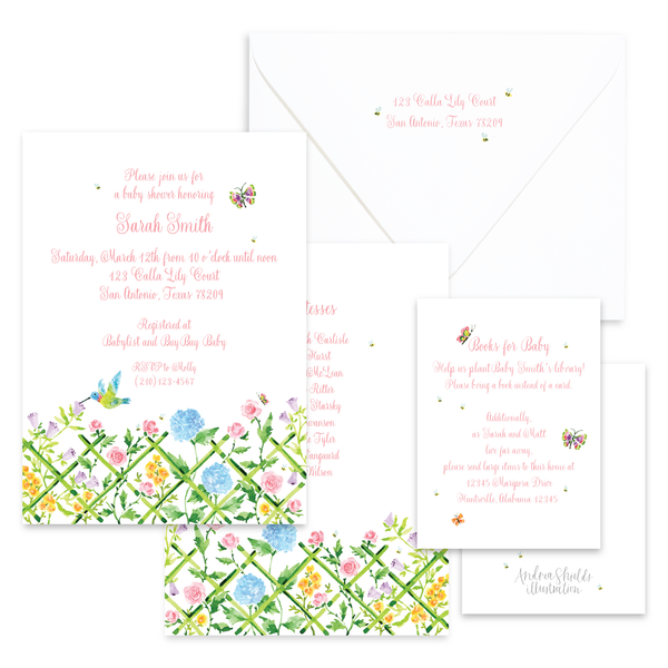 Invitations | Custom Illustration
