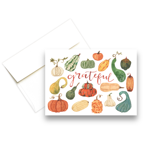 Grateful | Fall Greeting Card