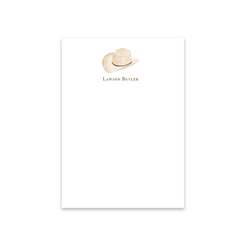 Cowboy Hat Notecards | Men's Stationery