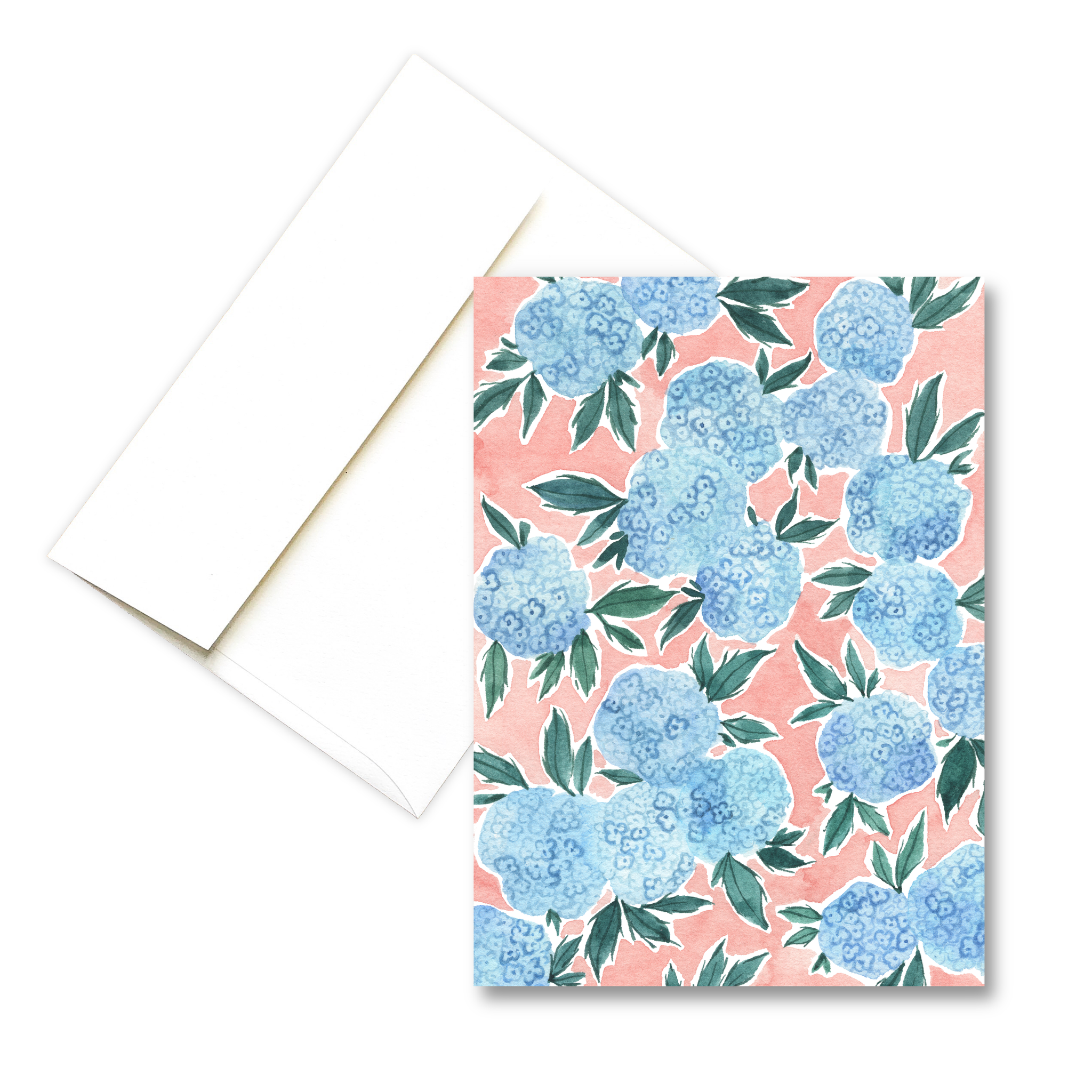 Hydrangeas | Springtime Greeting Card