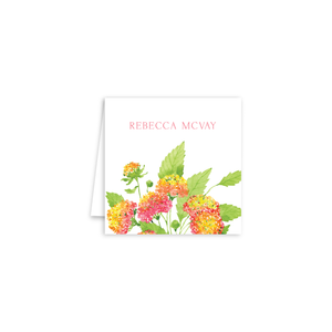 Lantanas Enclosure Cards | Botanical Bouquets