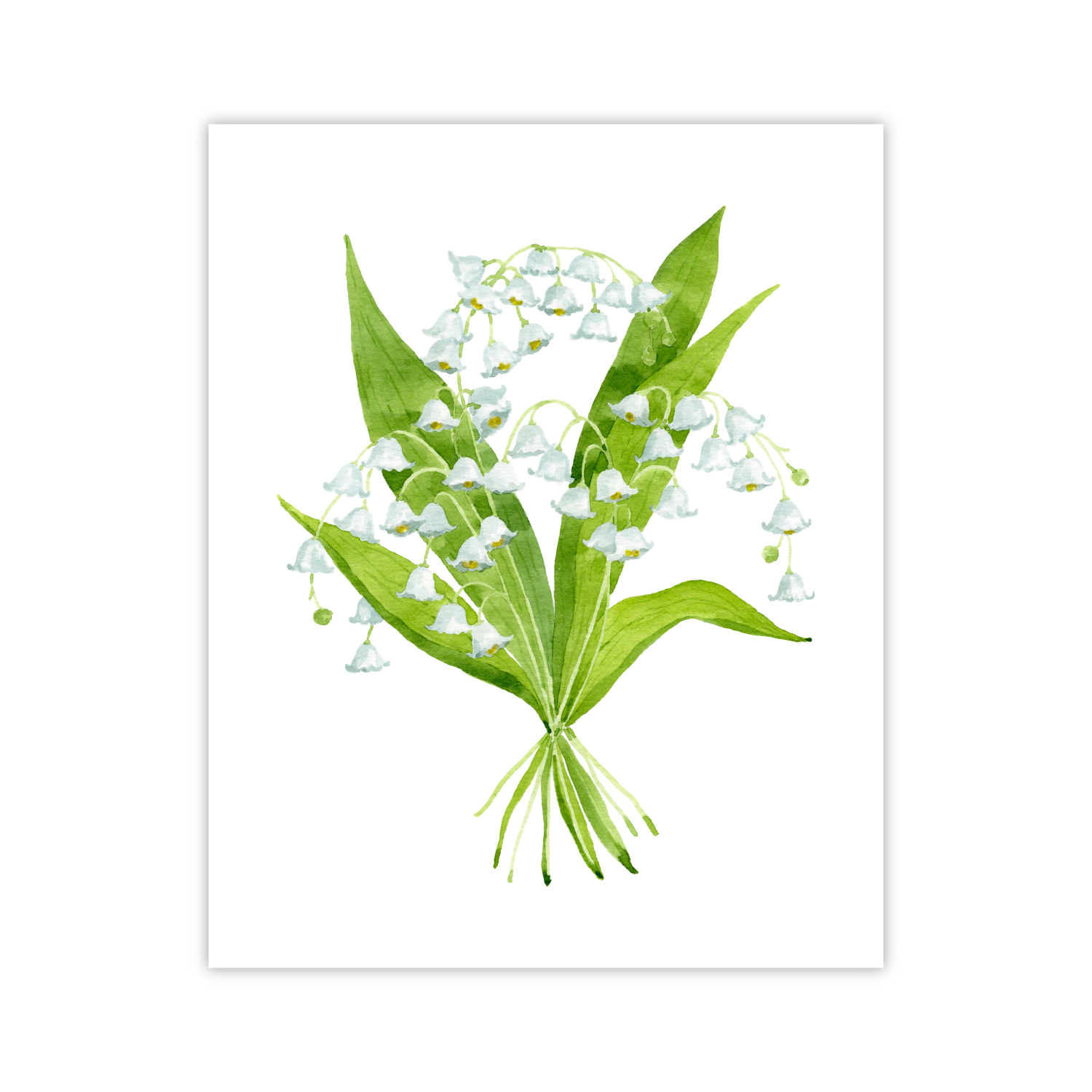 Lily of the Valley Print | Botanical Bouquets