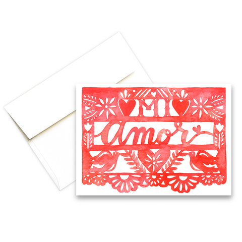 Mi Amor | Love Greeting Card
