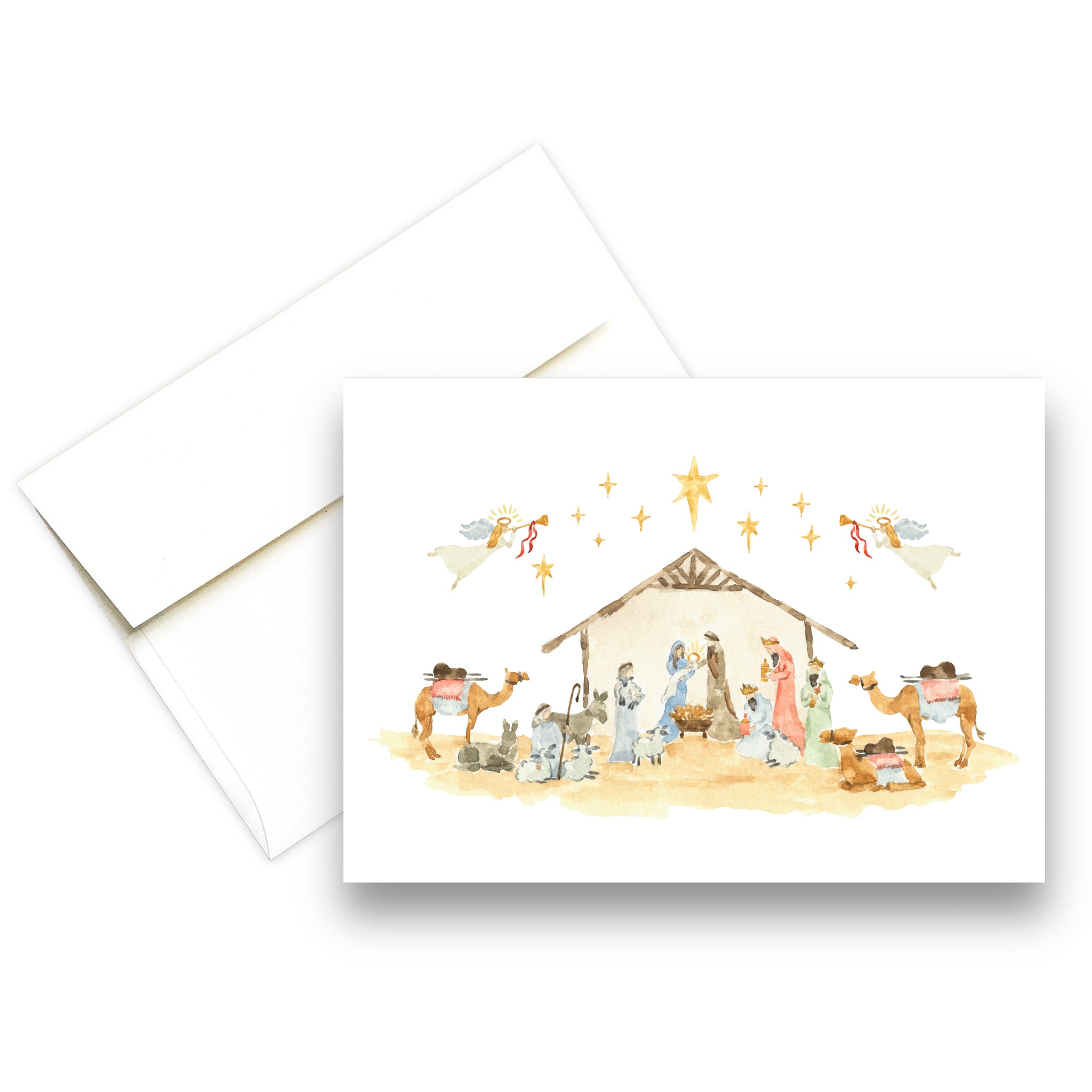 Nativity | Christmas Greeting Card
