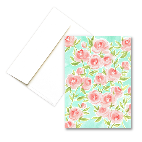 Peonies | Springtime Greeting Card