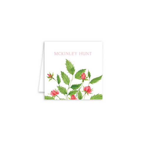 Roses Enclosure Cards | Botanical Bouquets