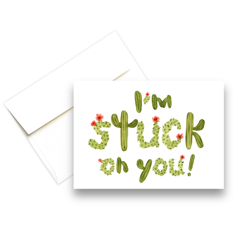 I'm Stuck On You | Love Greeting Card