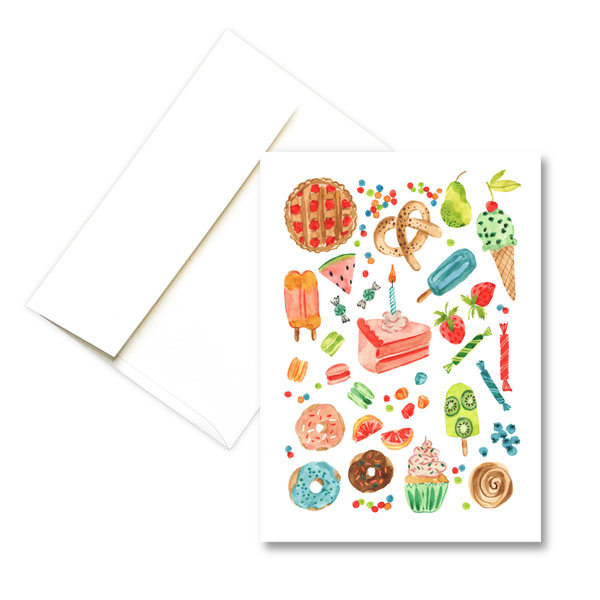 Sweet Birthday | Birthday Greeting Card