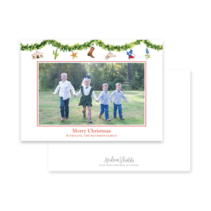 Texas Garland Landscape | Holiday Photo Card