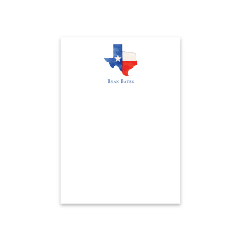 State of Texas Notecards | Men's Stationery