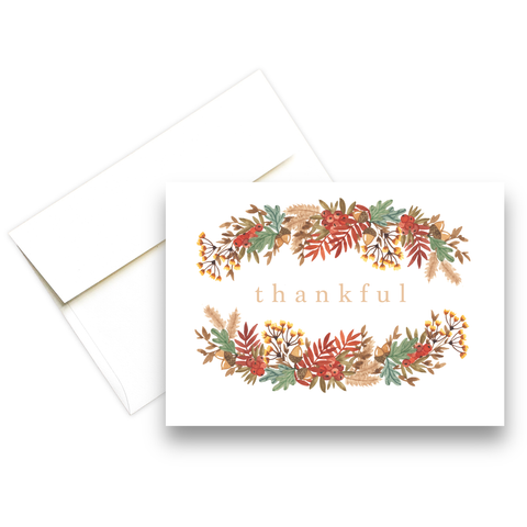 Thankful | Fall Greeting Card