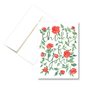 Thinking Of You | Sympathy Greeting Card