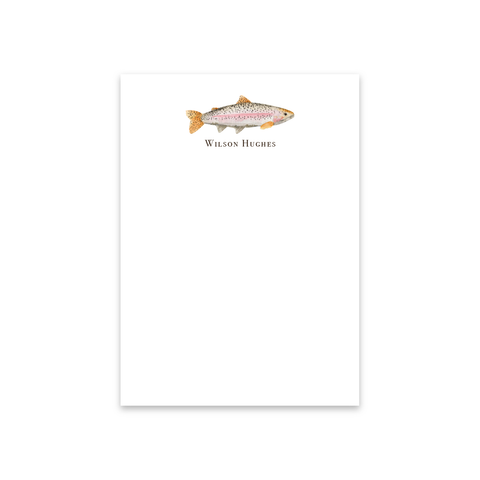 Rainbow Trout Notecards | Men's Stationery