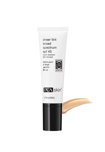 PCA Skin Sheer Tint Broad Spectrum 45