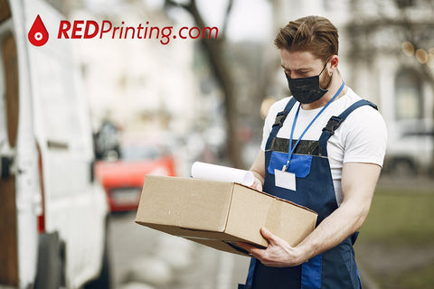 RedPrinting Shipping and Delivery