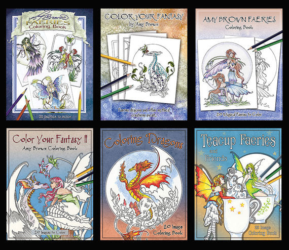 Coloring Books On Amazon!