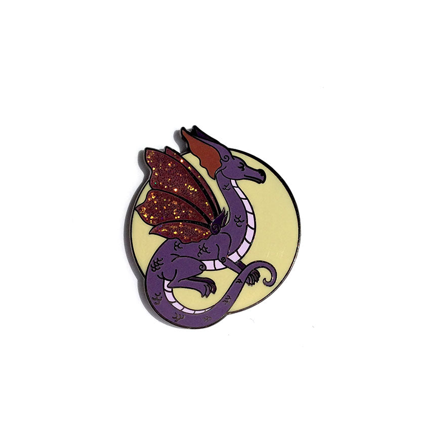 Collectible Pin - Purple Dragon