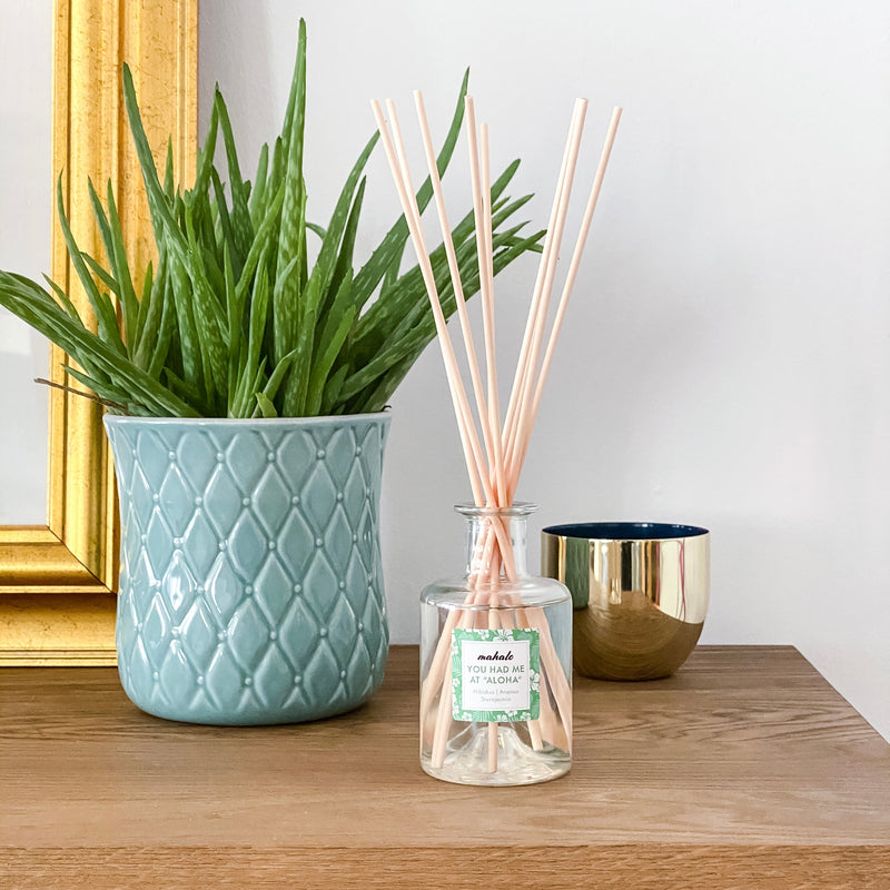 "YOU HAD ME AT ""ALOHA"" REED DIFFUSER"