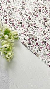 Floral Collection - Cardstock Resin