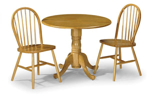 Dundee Dropleaf Table And 2 Windsor Chair Set