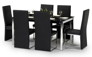 Tempo Table And 6 Chair Set