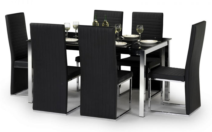 Tempo Dining Table And 6 Chair Set