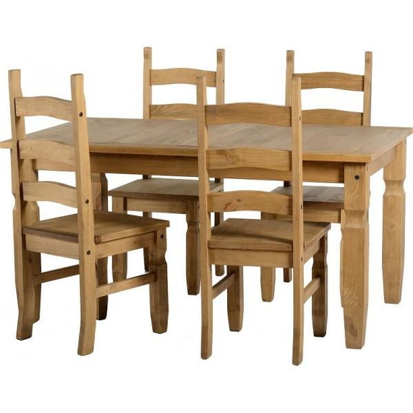 Corona 5ft Dining Set
