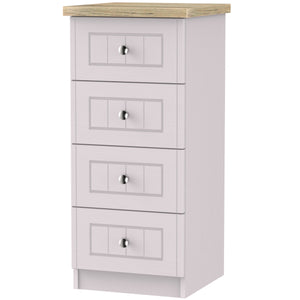 Vienna 4 Drawer Tall Chest