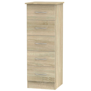 Avon 5 Drawer Narrow Chest