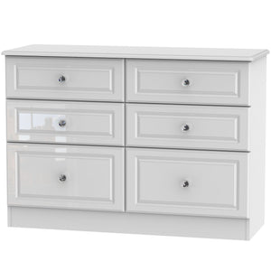 Balmoral 6 Drawer Midi Chest