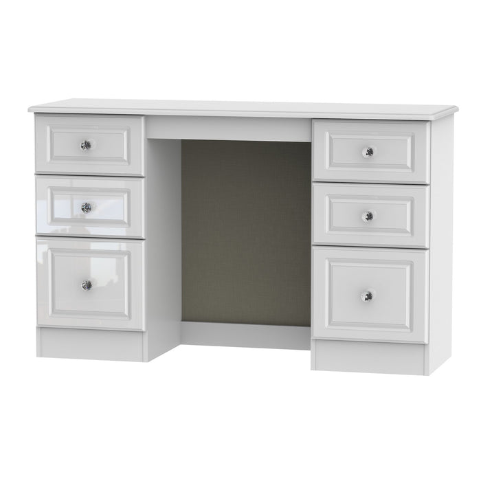 Balmoral Double Pedestal Dressing Table