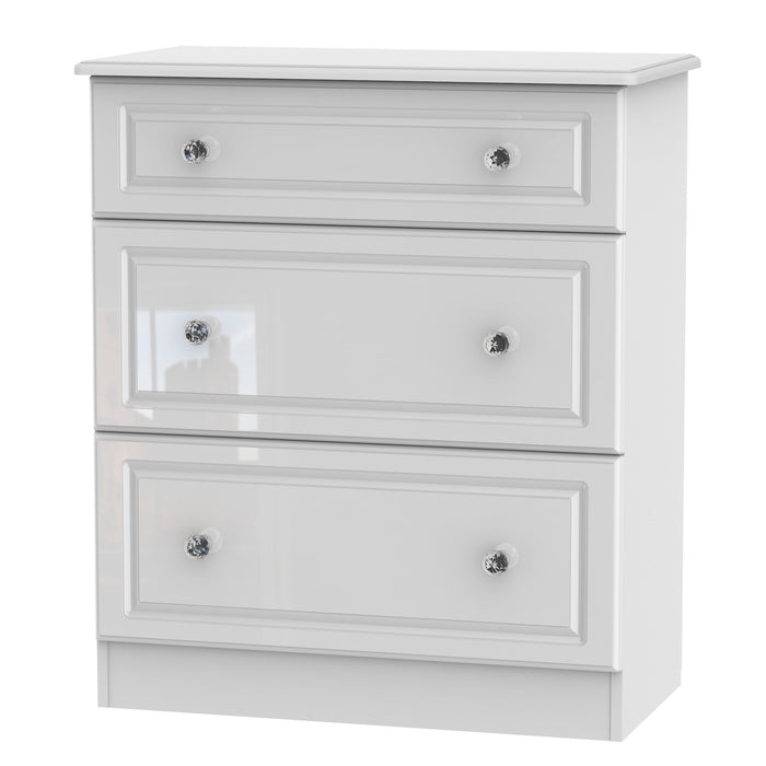 Balmoral 3 Drawer Deep Chest