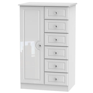 Balmoral 1 Door Children Wardrobe