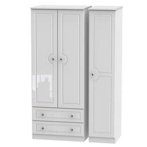 Balmoral 3 Door 2 Left Drawer Wardrobe