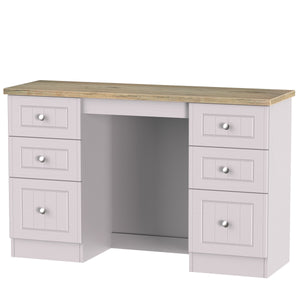 Vienna Double Pedestal Dressing Table