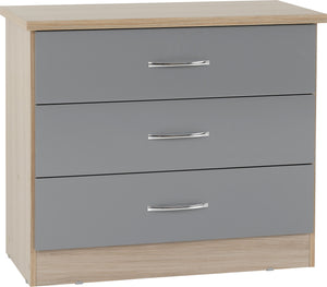 Nevada 3 Drawer Chest