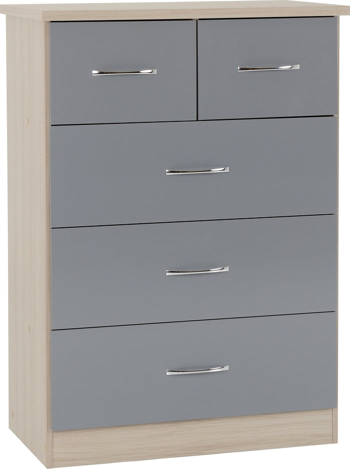 Nevada 3+2 Drawer Chest